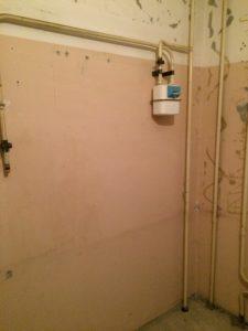 перенести газовые трубы в квартире