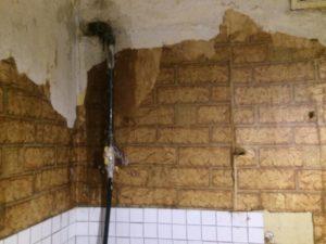 перенос газового крана в кварите