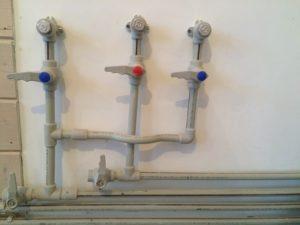 подключение систем гвс и хвс